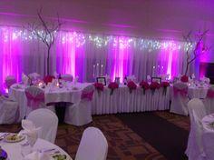 #purple #glowing #wedding