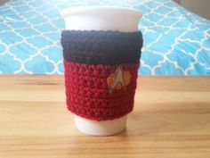 Star Trek TNG Inspired Cup Cosy