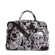 Vera Bradley Luggage Women's Weekender Midnight Paisley Duffel Bag ** Visit the image link more details.
