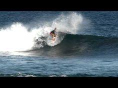Bethany Hamilton surfing.. Amazing!!!