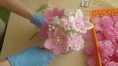 МК Букет из мыльных цветов. Nylon Flowers, Mould Design, Diy Bouquet, Soap Recipes, Home Made Soap, Handmade Soaps, Soap Making, Paper Art, Diy And Crafts