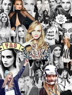 Cara collage