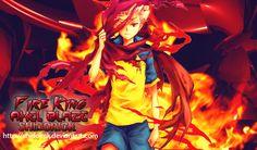 Fire King  Axel Blaze by Shidorick