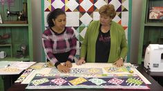 Twist 10 Table Runner Tutorial with Jenny Doan of Missouri Star Quilt Co.