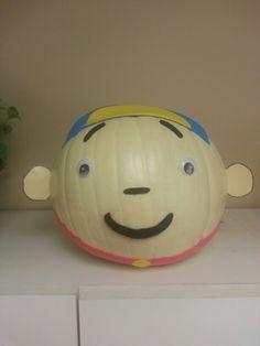 My Caillou Pumpkin