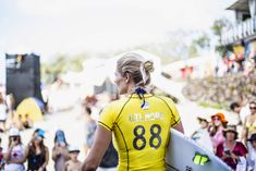 QUIKSILVER & ROXY  ROXY GIRL Stephanie Gilmore before her heat at this year's Roxy Pro Gold Coast. Photo WSL Quiksilver & Roxy Pro Gold Coast Roxy Pro 2015 Gold Coast 2015 #RoxyPro wsl official WSL  WORLD SURF LEAGUE