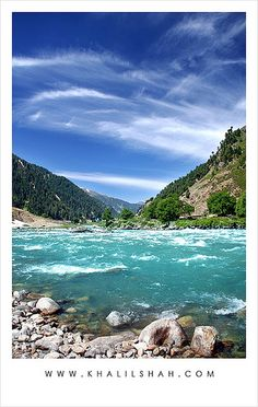 River Kunhar . Pakistan