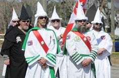 Kkk Today | The Georgia Knight Riders and Knights of the Ku Klux Klan rallied for ...