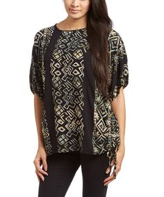 Look at this Mission Canyon Hatari Side-Tie Top on #zulily today!
