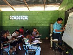 """An insiders look at the little """"La Chispa"""" school at the Finca. 40 kids, one teacher, ages"""