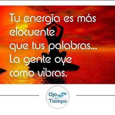 #ojodeltiempo #pensamientospositivos #paz #namaste