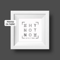 Motivational & inspirational quote for the office. Hand printed Art print on fabric. Original gift for a colleague or as office decor. Office Motivational Quotes, Office Quotes, Inspirational Quotes, Boost Creativity, Work Motivation, Printing On Fabric, How To Plan, Sayings, Printed