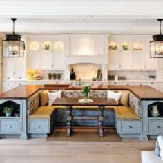 Brilliant design of this kitchen! Anyone know the Designer?
