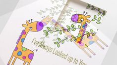 Peek-a-Boo Giraffe: Copic Coloring with Sandy Allnock