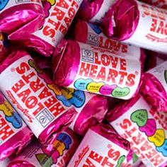 Swizzels Love Hearts Mini Rolls Party Candy Bag Wedding Retro Wholesale Sweets