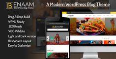 Benaam Multipurpose WordPress Blog Theme