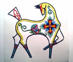 Joseph Newman - Beadwork - Horse - Native American Art