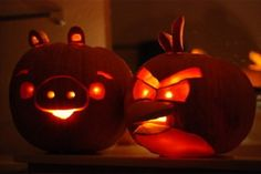 Angry Birds jack-o-lanterns :) Pirate Halloween Costumes, Couple Halloween Costumes For Adults, Fall Halloween, Couple Costumes, Group Costumes, Adult Costumes, Native American History, Native American Indians, Angry Birds Pumpkin