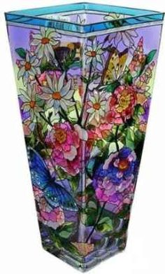 Stained Glass Vase <3<3<3PRETTY<3<3<3