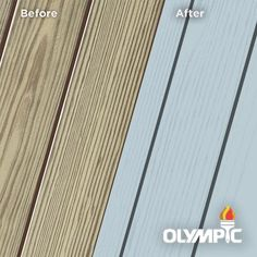 Exterior Wood Stain Colors - Shipmate Blue - Wood Stain Colors From OlympicStains.com Exterior Wood Stain Colors, White Wood Stain, Deck Stain Colors, Deck Colors, Paint Colors, White Deck, Fence Stain, Outdoor Living, Oxford