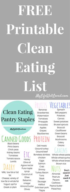 Clean Eating Pantry Staples // My Life Well Loved // Heather Brown at My Life Well Loved