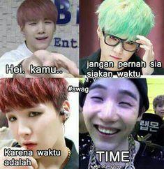 Quotes by min yoongi jjang jjang men boong boong Funny Kpop Memes, Exo Memes, Cute Memes, Reading Meme, Boy Meme, Dark Jokes, Min Suga, Meme Faces, Funny Moments
