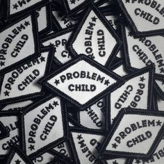 """5$ - These patches were designed to be bought in pairs and worn on each side of your collar but they look just as good when used by themselves. No worries, you'll look badass either way! Size: 2"""" X 1.25"""""""