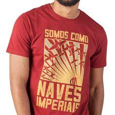 61e9e76f1b54c Camiseta Oficina G3 Naves Imperiais