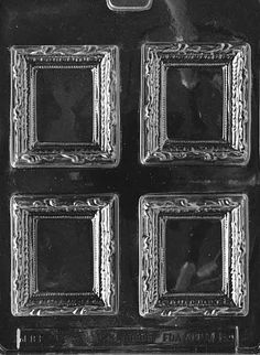 PICTURE FRAME Chocolate Candy Mold Soap LPM110 by Preegle on Etsy, $1.99