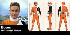 power rangers spd - Boom's Orange Ranger turnaround