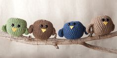 """Free pattern for """"Birds of Feather""""!"""