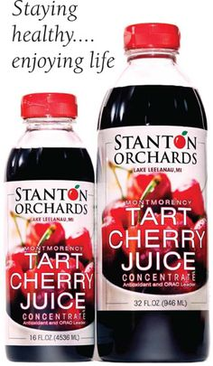 Favorite recovery drink!  Tart cherry juice reduces inflammation after hard runs and lifts.  Love it in juice or diluted with water with a drop of stevia.