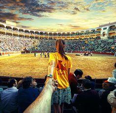Follow me to the corrida  Murad Osmann