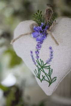 Heart-Shaped <br>Lavender Sachets