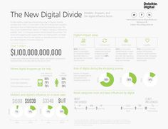 The New Digital Divide Infographic #Deloitte #mobilizingshoppers