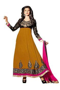 Designer Wear Sushmita Sen Anarkali Suit