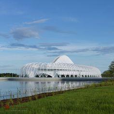 "Santiago Calatrava's Florida Polytechnic Building Named ""Project of the Year"""