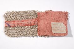 Aimee Lee, spun, knit, corded handmade paper