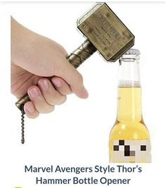 Another Avengers gadget to get yourself or a friend.  #Avengers #Marvel #Drinks #Thor #Hammer #iwtat #gifts