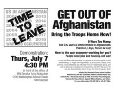 Bring the troops home. Now.