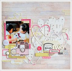 #papercraft #scrapbook #layout Jeanette Lee