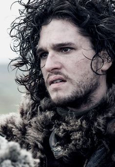 Jon Snow- good lord this man is just beautiful