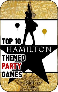 Hamilton the Musical birthday party game ideas #kidsbirthdayparty #kidsbirthdaypartyideas #girlbirthdayparty #girlbirthdaypartyideas #boybirthdayparty #boybirthdaypartyideas Birthday Party For Teens, Birthday Party Games, 12th Birthday, Teen Birthday, Birthday Ideas, Birthday Stuff, Diy Party Games, Party Activities, Party Themes