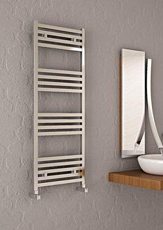 Contemporary Special Design Aluminium Heated Towel Rails Radiator Carisa FAME