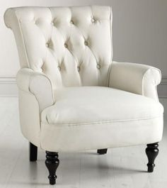 Morgan Arm Chair in Ivory $439