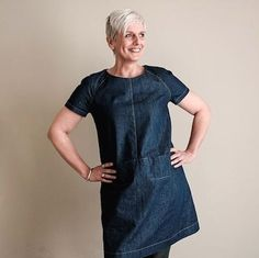 Merchant and Mills The Top #64 Pattern Hack - Dress from M&M themselves