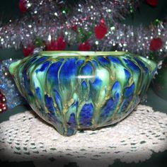 Vintage Ceramic  Planter / Handmade pot / 3 legged bowl by GypsumMoonVintage, $18.00