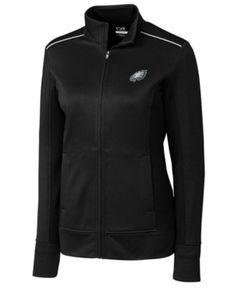 Cutter   Buck Women s Philadelphia Eagles WeatherTec Ridge Full-Zip Jacket  Women - Sports Fan Shop By Lids - Macy s 6d45e8b13
