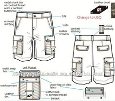 Multi-Pockets Cargo Short