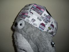 DIY Surgical/Scrub Hat : 4 Steps (with Pictures) - Instructables Sewing Tutorials, Sewing Projects, Sewing Patterns, Sewing Ideas, Sewing Crafts, Sewing Tips, Sewing Hacks, Crochet Projects, Diy Crafts